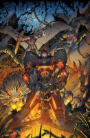 Transformers RID #8 cover colors by khaamar