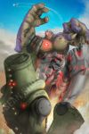 *COMMISSION* Exterminus vs. Cherno Alpha by SeanSumagaysay