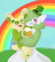 St. Patrick's Day redraw by sirKnight69