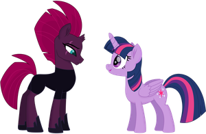 Twilight and Tempest 2 (Without Armor) by EJLightning007arts