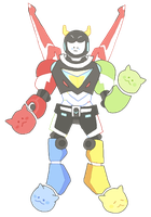voltron by badgrl675
