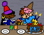 OTP Theme 27: On One of Their Birthdays by pennywhistle444