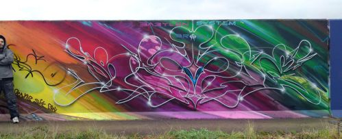 in Babylon It rained whilst I was painting this by Brave-one