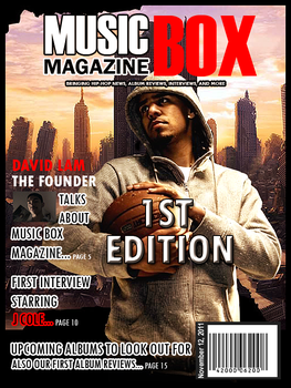 Music Box Magazine Cover Mock by ElectriK-Red