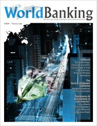 World Banking Magazine Cover by serafin666
