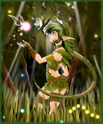 saria of the forest by Know-Kname
