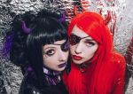 Violet_Spider and Tyapko by Violet-Spider