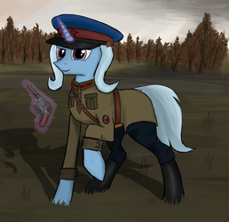 The Great and Powerful comrade by SinniePony