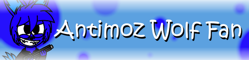Antimoz Fan Button 2.0 by AntimozWolf