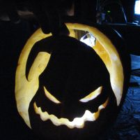 Pumpkin Carving 2007 by Yoyobionicle