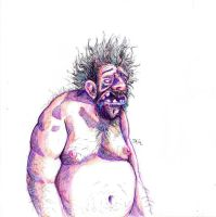 Daily Sketch: Monday Morning by Hunchy