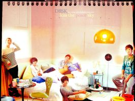 DBSK - Kiss the Peace Sky by crying-ophelia