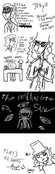 Jekyll and Hyde Musical Doodles by Disgaeagirl565