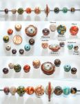 Solar System (plus Pluto) Handmade with hot glass by copperrein