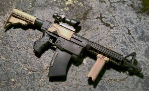 Custom Tactical Nerf Recon M4 Carbine by JohnsonArmsProps