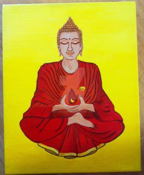 Buddha by InconsistantMe