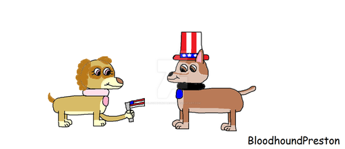 Happy Fourth of July (2018) by BloodhoundPreston