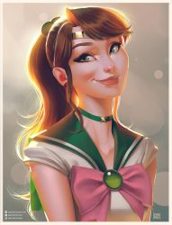 Sailor Jupiter Portrait by lenadrofranci