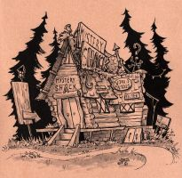 Mystery Shack by Ghotire