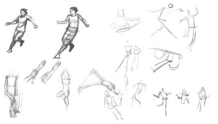 August Drill Stream Gestures by Warlord-of-Noodles