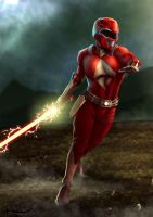 Red Ranger by Chronokhalil