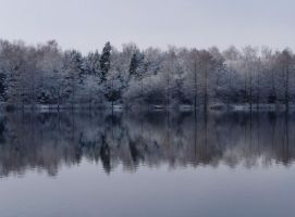Winter Mirrow by Caillean-Photography