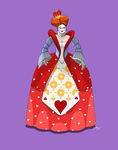 The Queen of Hearts by MangleDangle