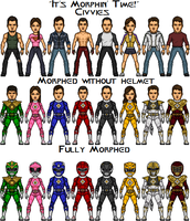 Mighty Morphin' Deviant Rangers Season 2 by SpiderTrekfan616