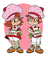Strawberry Shortcakes by thweatted