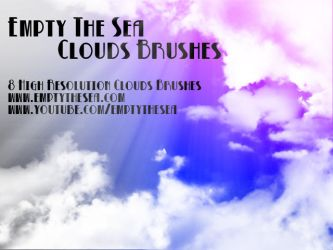 Photoshop Clouds Brushes by emptythesea