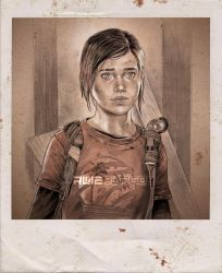 The Last of Us - ELLIE by RUIZBURGOS