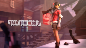SFM - Four Hundredth Femscout Render by wnses286