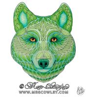 Guardian of the Forest (The Exotic Colouring Book) by megcowley