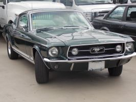 '67 Mustang by AloneRacecar