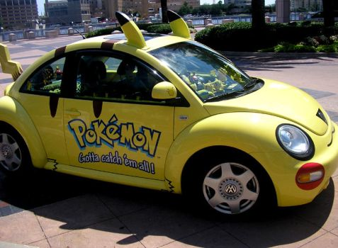 Pokemon Vehicle by KnightSaberRage