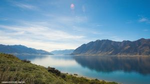 Lake Hawea by Attila-Le-Ain