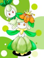 lilligant and petilil