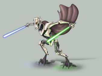 General Grievous by suzidragonlady