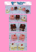 .: Petite Four Charms :. by moofestgirl