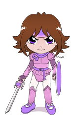 Polly the Knight in padded Armor by PrincessPolly63