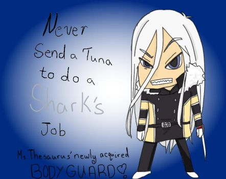 Chibi Body Guard Squalo by InnocentlyCorrupt