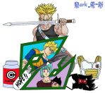 Trunks Tribute Complete by shinigamisgem