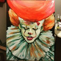Pennywise The Dancing Clown painting by LethalStarClan
