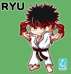 Street Fighter V -  Ryu [Maplestory Style] by RedCaliburn