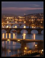 Night Prague XV by semik