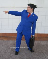 Phoenix Wright Cosplay by sleepyotter
