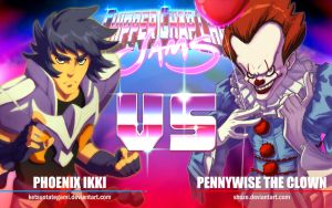 CCC-JAMS | Phoenix Ikki VS Pennywise The Clown by KetsuoTategami