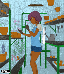 Coral Greenhouse colored by harenm