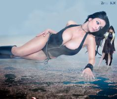Giga Denise Milani and Maria Amanda by ZituKX