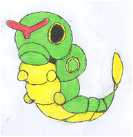 Caterpie by TheJewelOfIsis